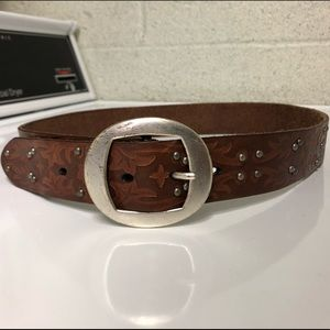 REI Leather Studded Belt